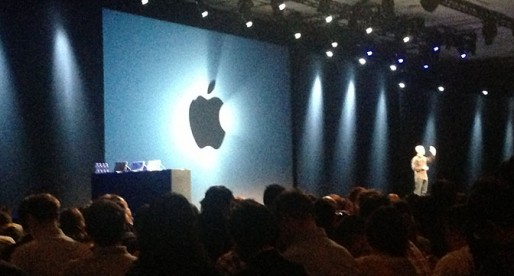 Tim Cook! What's hiding behind that apple?