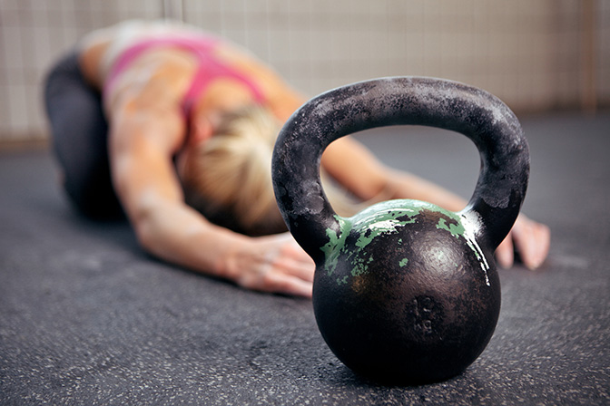 We welcome our kettlebell overlords.