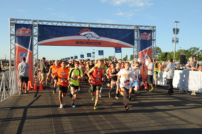 race recap: Denver Broncos Back to Football 10k