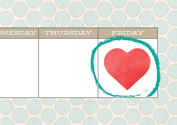 Friday I'm in Love: Sun City Poms, Old Spice Mom Song, Free Planner Printable