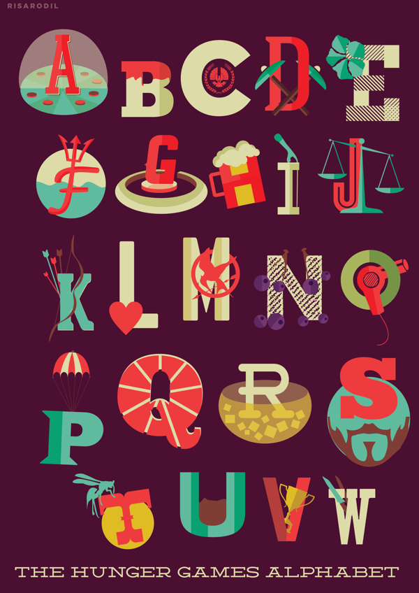 The Hunger Games Alphabet, by Risa Rodil