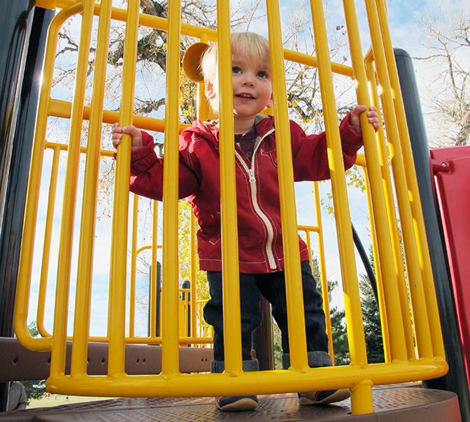 Wordless Wednesday: At the playground