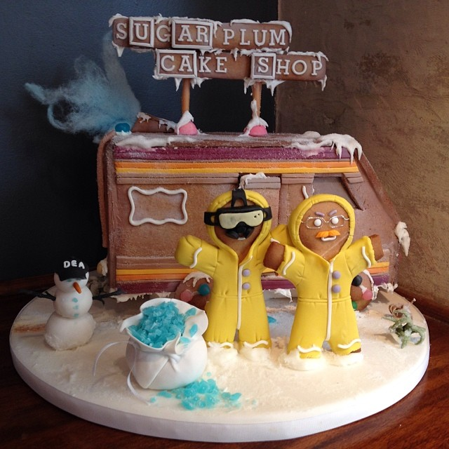 Breaking Bad Gingerbread House