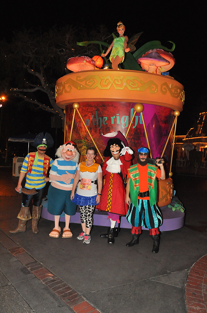Tinker Bell, Hook and Smee