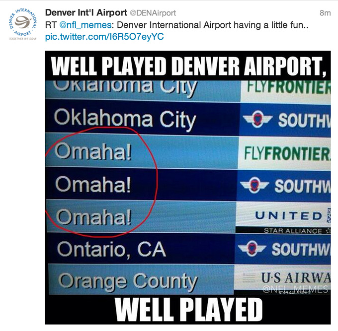 Denver Airport Omaha