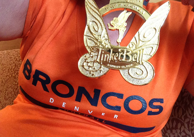 Broncos and Medal