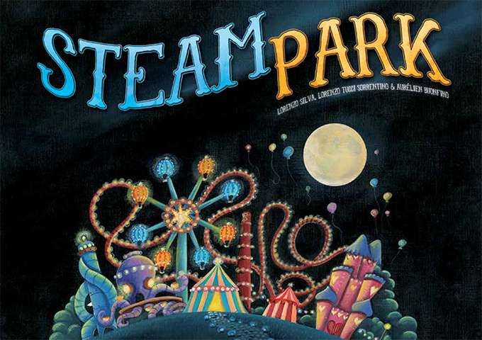 Review: Steam Park board game