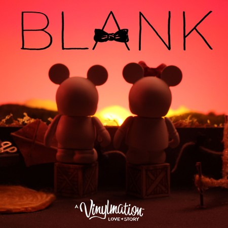 Blank and Bow: A Vinylmation Love Story