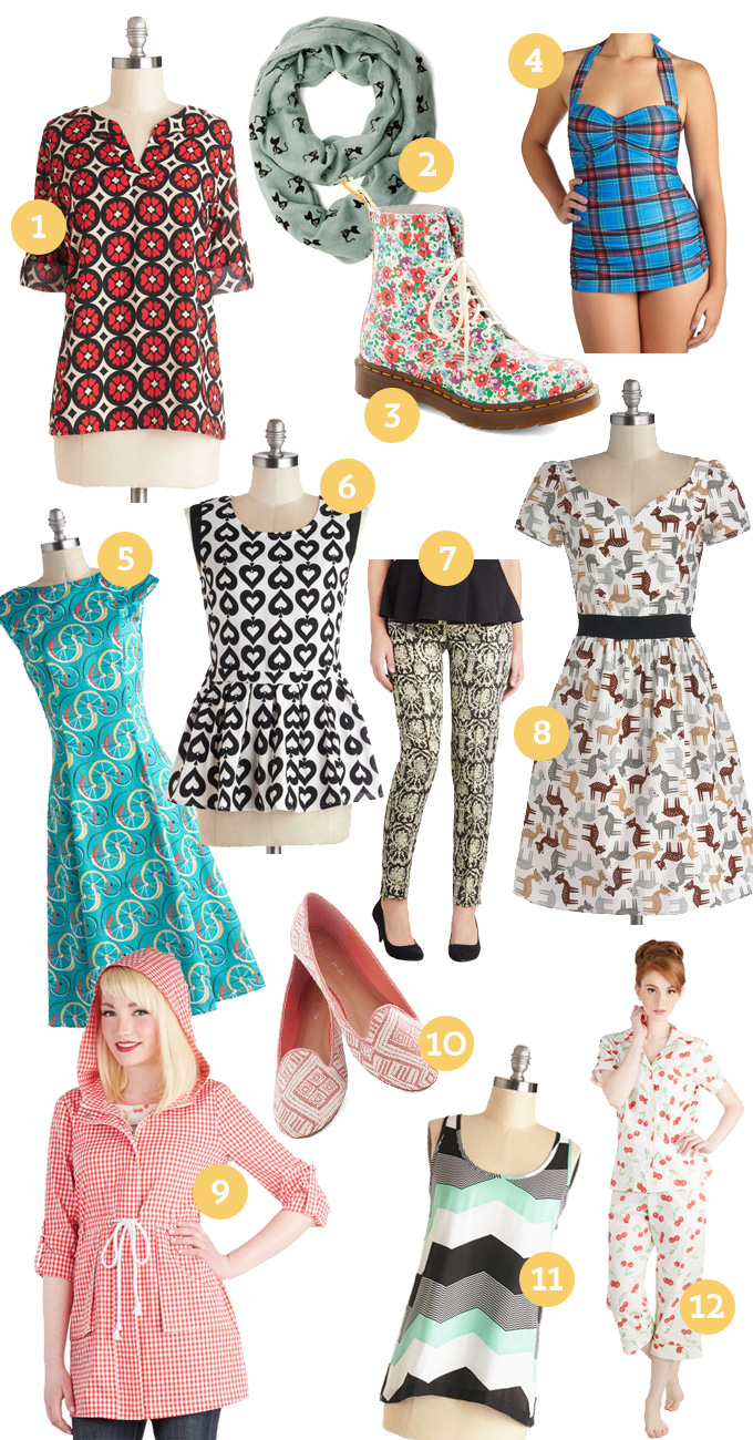 ModCloth patterns