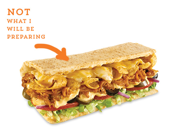 Fritos Chicken Enchilada Melt