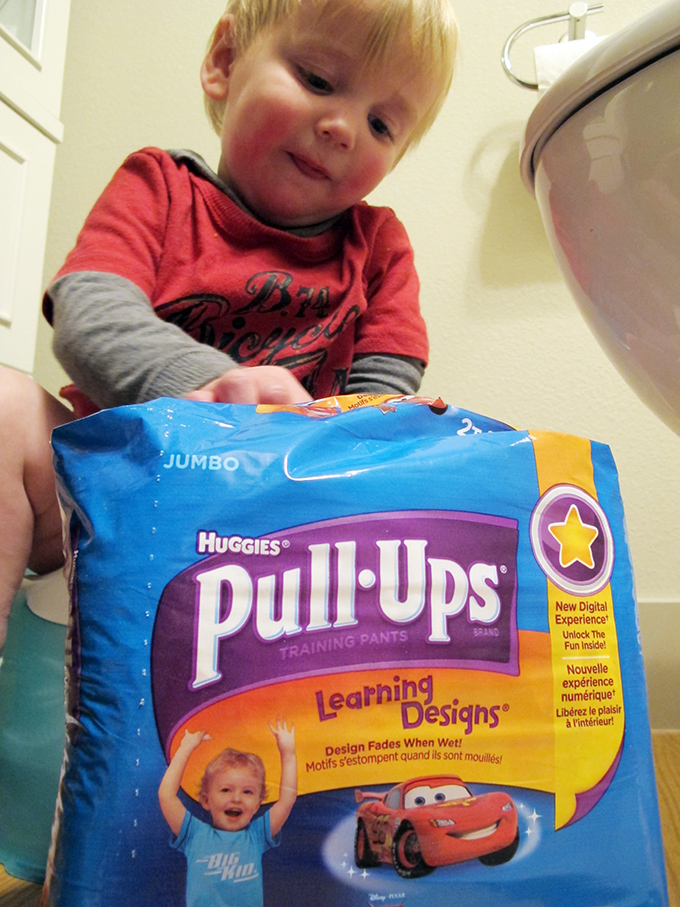Our Potty-Training Progress and Pull-Ups