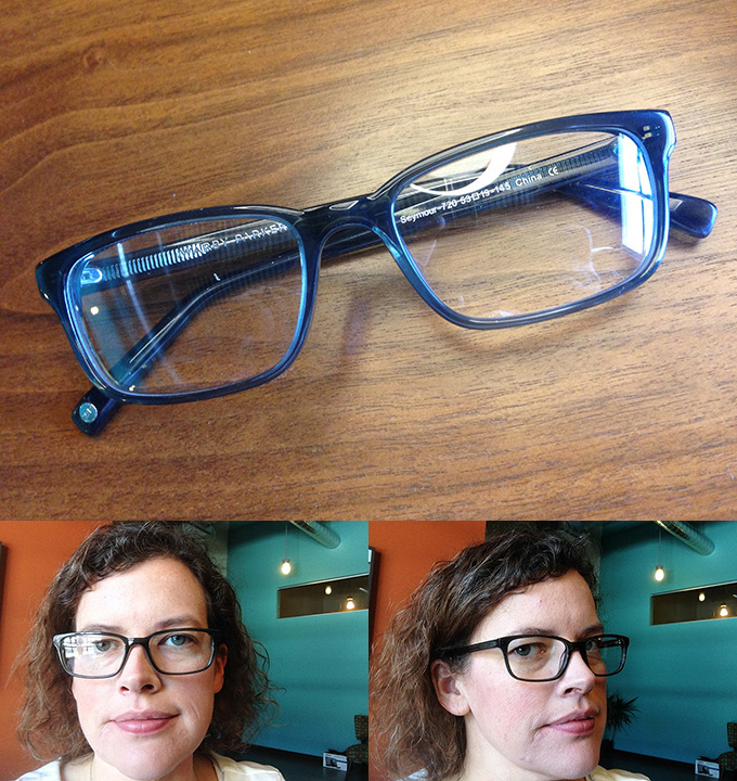 Seymour eyeglasses - Warby Parker