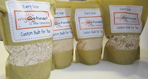 MyOatmeal: Customize your own oatmeal blend