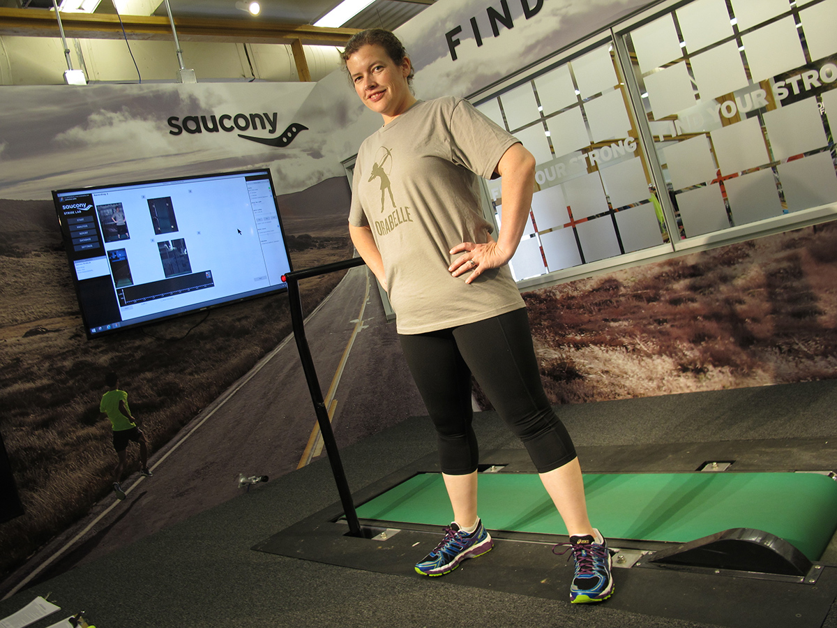 Testing, 1, 2, 3: Hydrostatic Body Fat Analysis and the Saucony Stride Lab