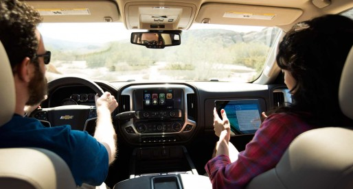 Hit the road with Chevrolet's in-car 4G LTE Wi-Fi