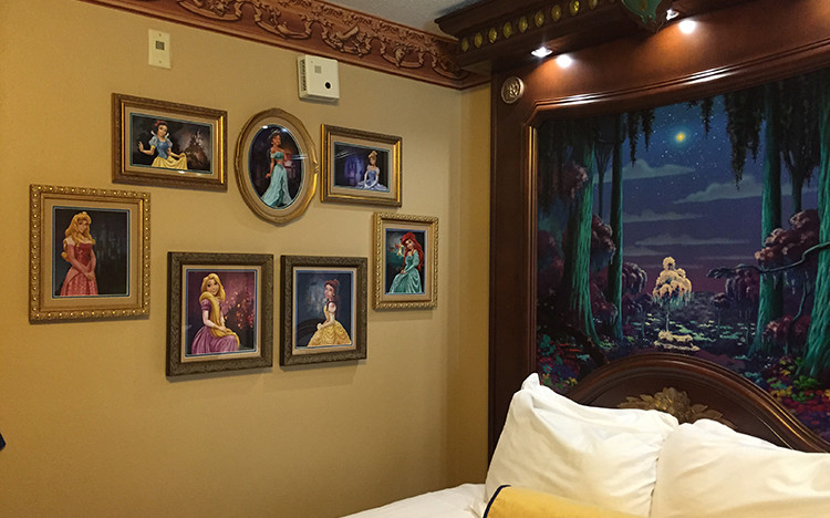 Wall O' Princesses