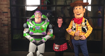 Buzz and Woody!