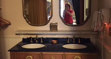 The vanity and sinks. Just because.