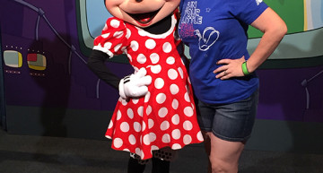 Officially taller than Minnie.