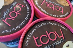 New from TCBY: A treat for your freezer with half the fat